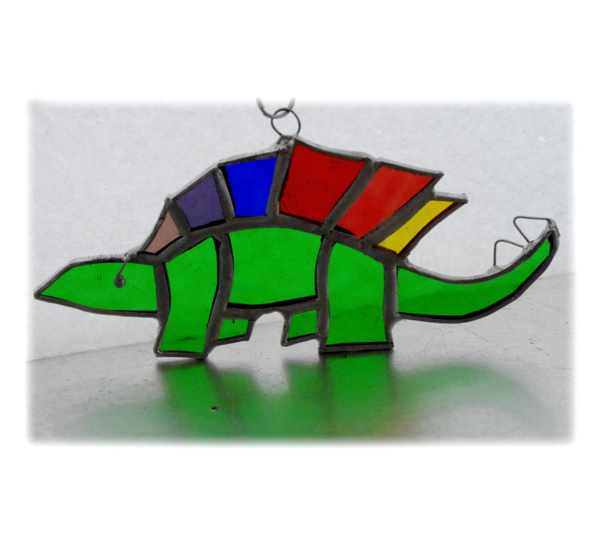 GREEN Dinosaur Stegosaurus 029 #1812 FREE 13.00