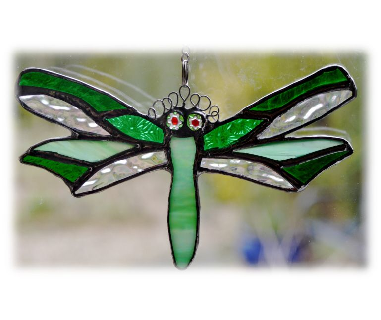 GREEN Dragonfly 034 Green @1312 FREE 14.50