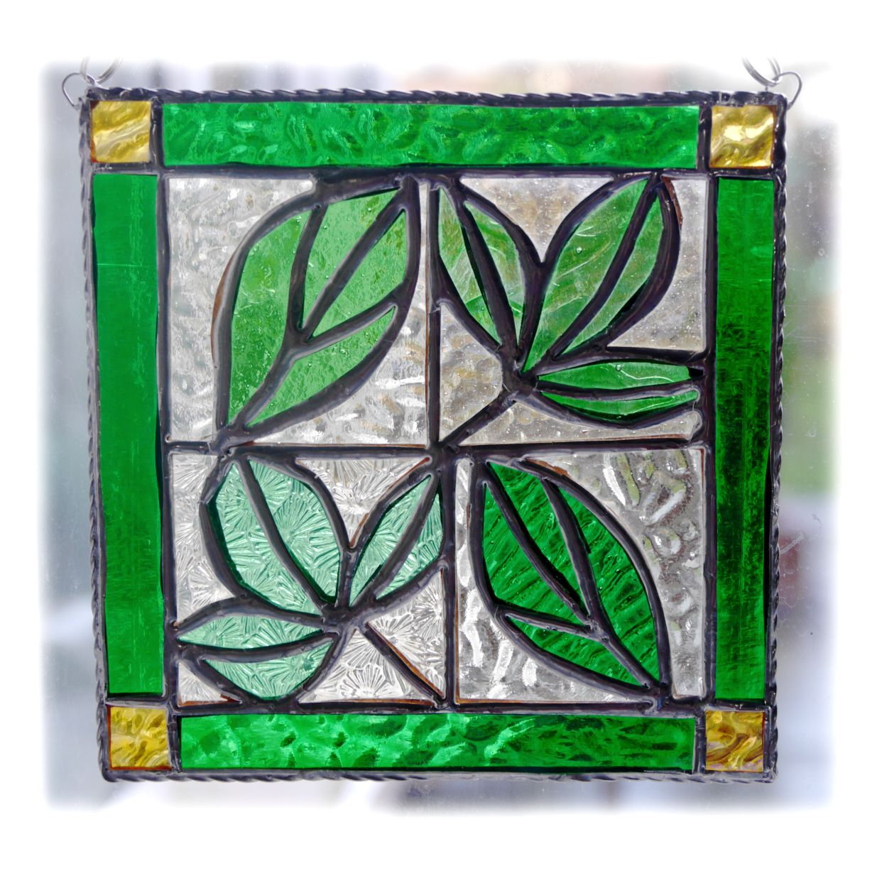 GREEN Leaf Tile 003 Green #1902 FREE 27.50