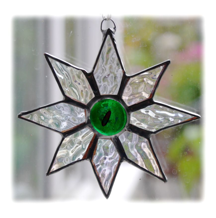 GREEN Shiny Star 9.5cm 001 Green #1808 FREE 10.00