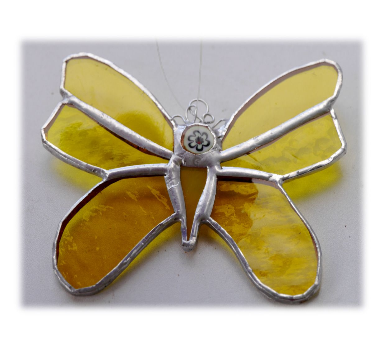 YELLOW Butterfly 11cm 060 Yellow #1907 FREE 9.00