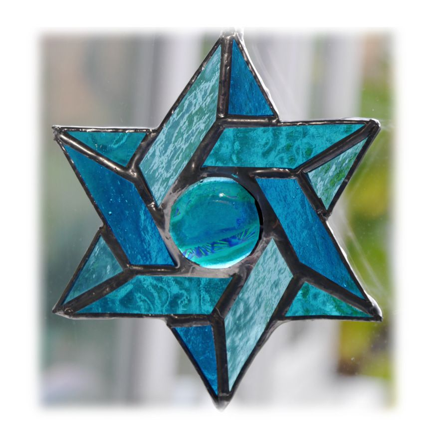 Star of David 015 Aqua #1710@FOLKSY @171013 @15.00