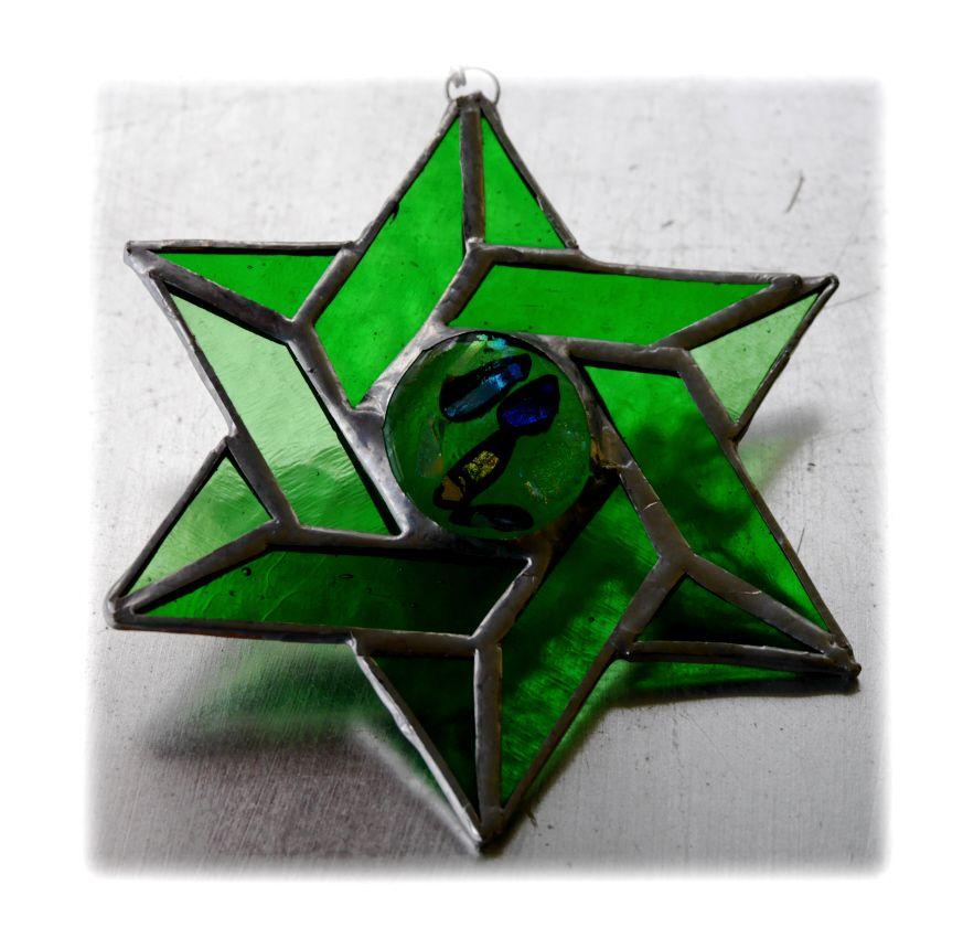 Star of David 013 Green #1710 @FOLKSY @171013 @15.00