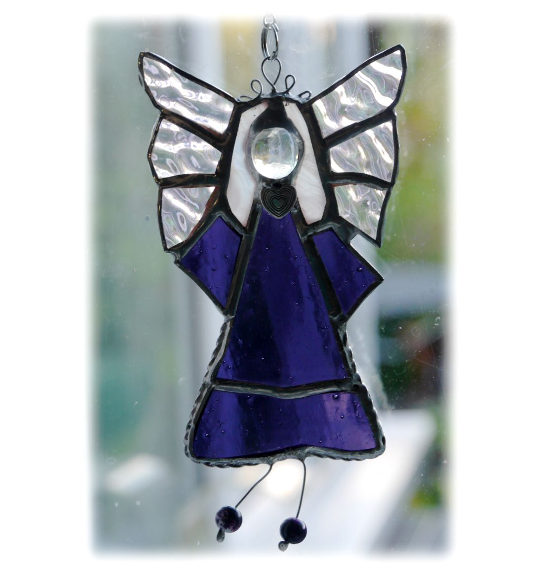 Angel 019 Purple Heart #1809 FREE 14.50