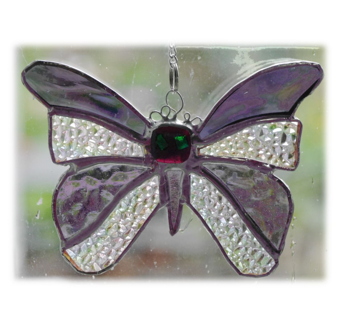 Birthstone Butterfly 054 Amethyst Feb #1905 FREE 13.00