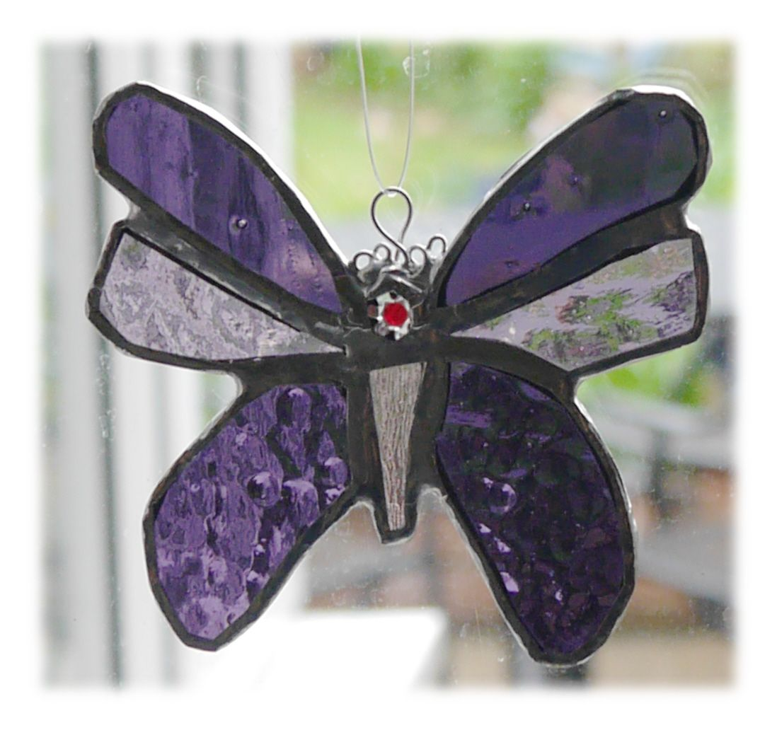 Butterfly 11cm 055 Purple #1705 FREE 9.00