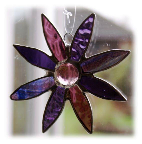 Daisy 9cm 037 Purple #1501 @FOLKSY @150216 @7.50