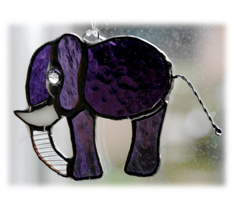 Elephant mini 072 Purple #1602 @Markets @161115 @8.00