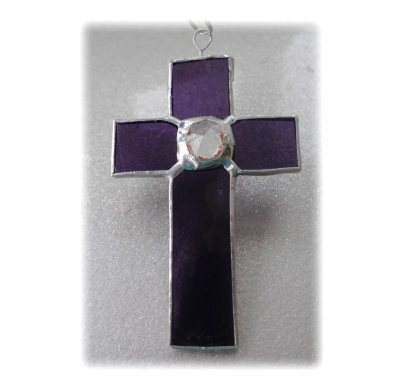 Mini Crystal Cross 002 Purple  FREE 9.00