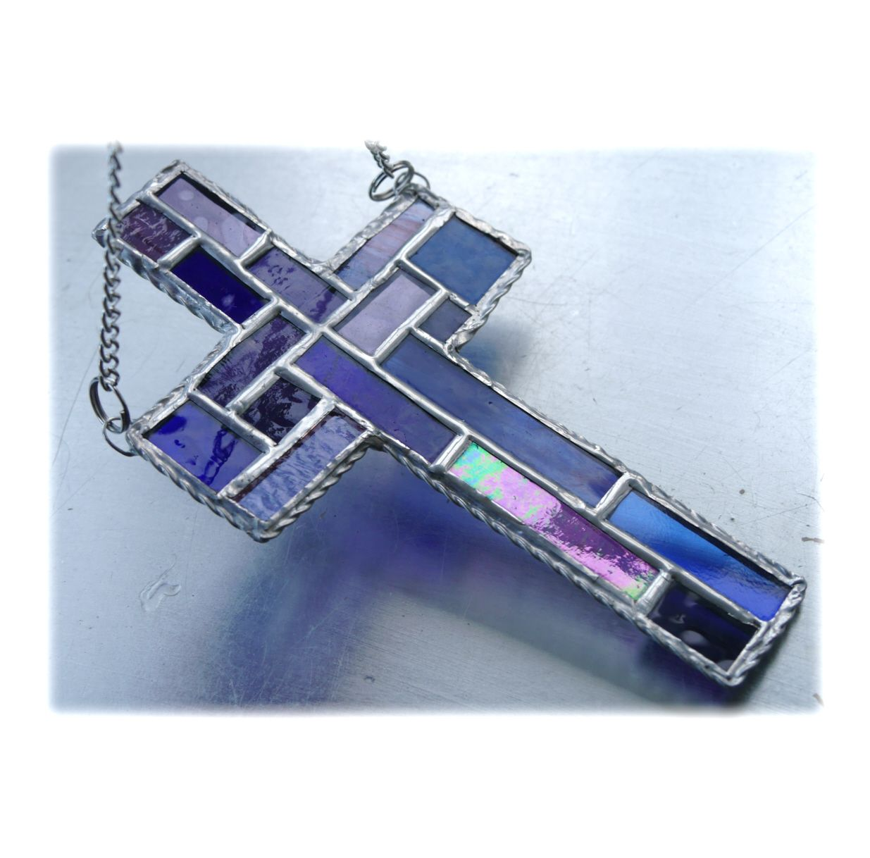 Patchwork Cross 028 Purple #1809 @FOLKSY @181030 @16.00
