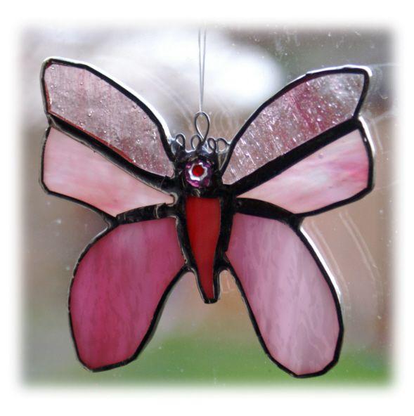 Butterfly 11cm 038 Pink  #1401 @FOLKSY @150224 @7.50