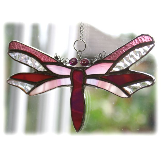 Dragonfly 037 Cranberry #1407 @Stafford @150421 @12.50