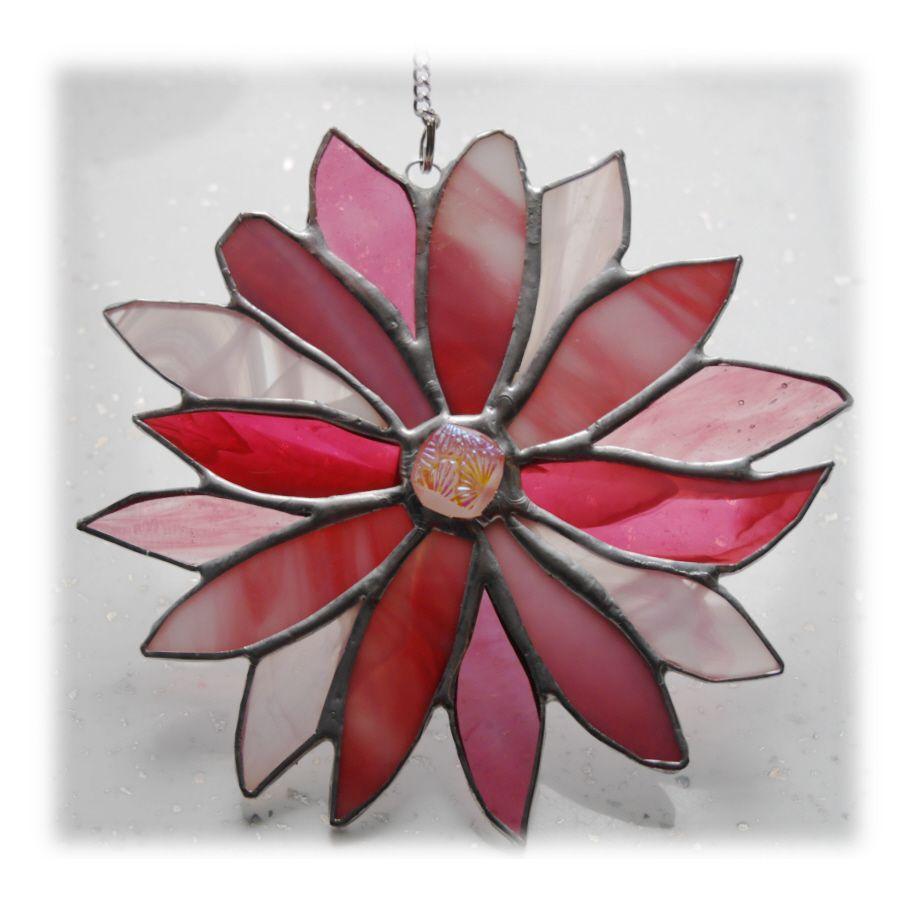 Pink 16 petal Flower 001 #1905 FREE 17.50