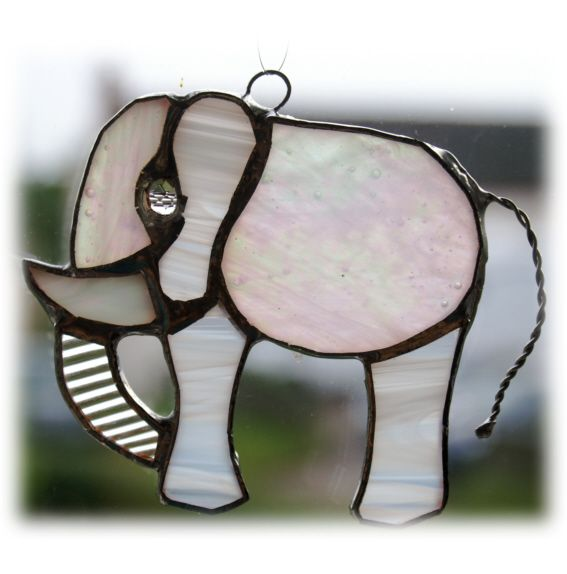 Elephant mini 053 White #1408 @FOLKSY @141014 @7.50