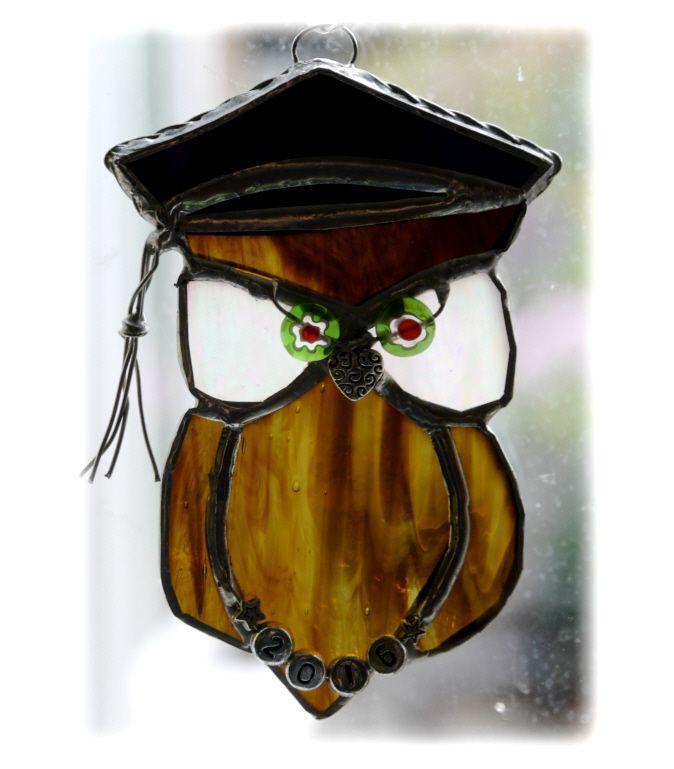 Graduation Owl  003 #1607 FREE 13.00