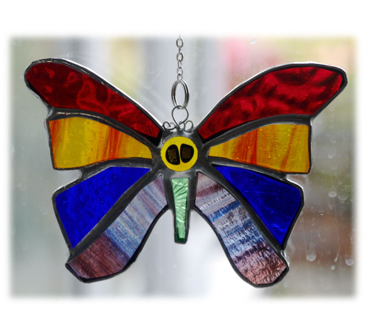 Birthstone Butterfly 048 rainbow #1808 FREE 13.00