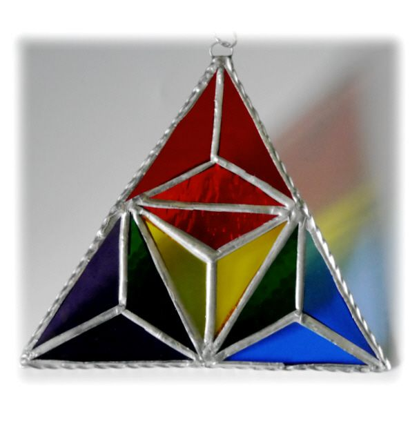 Equilateral Triangle Rainbow 001 #1610 FREE 16.00