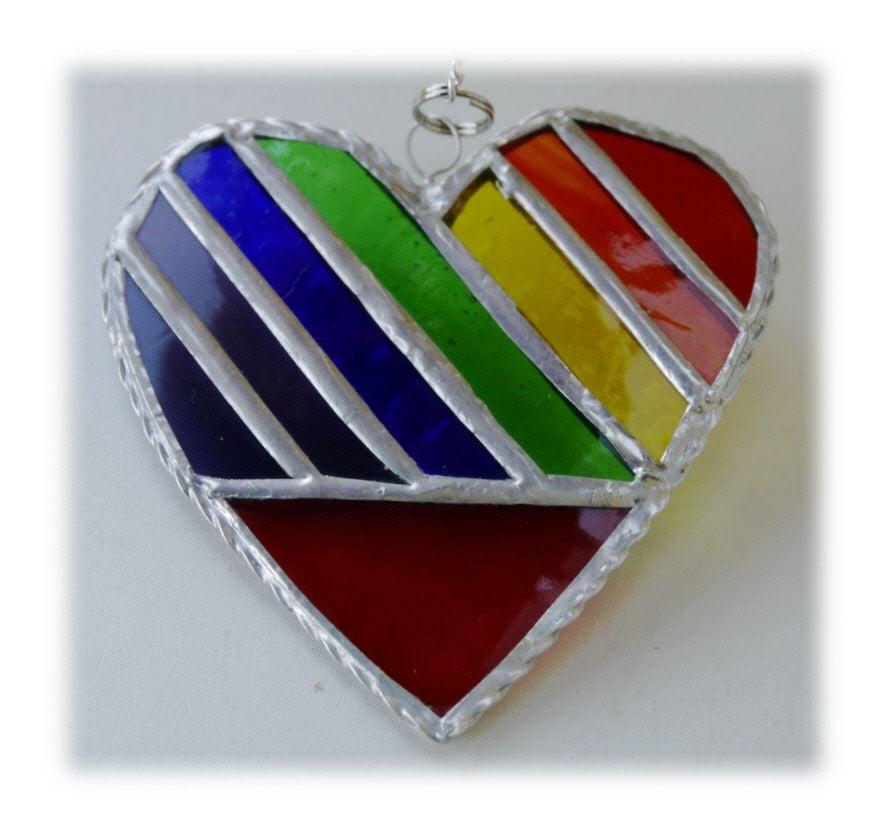 Heart 05 018 Rainbow #1708 FREE 13.00
