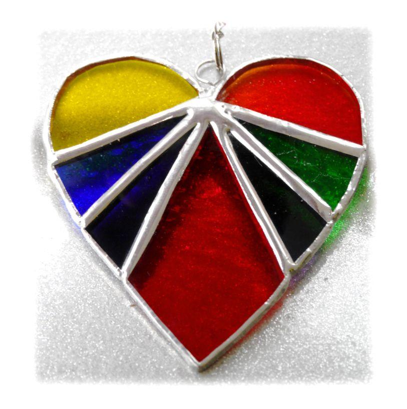 Heart 02 Rainbow 0376 #1804 FREE 10.00