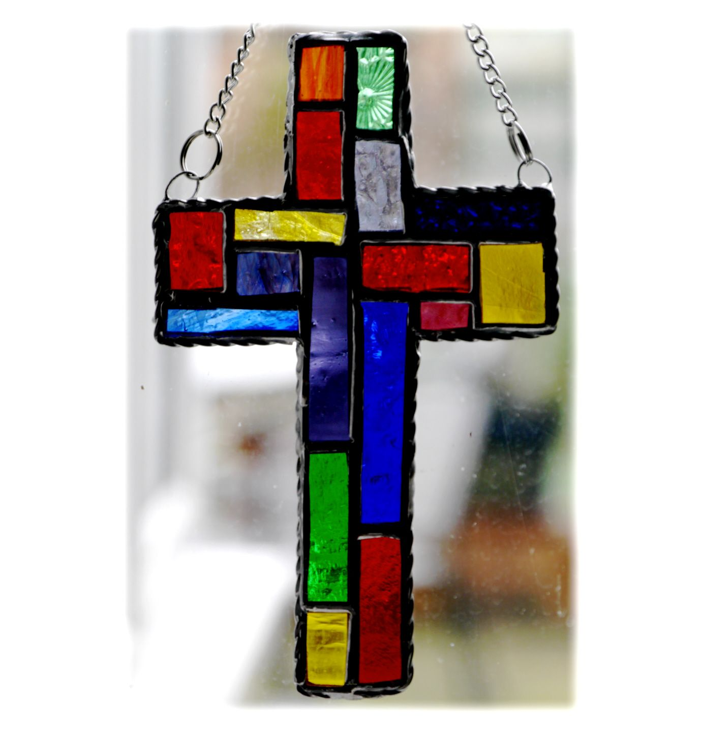Patchwork Cross 029 Rainbow #1901 FREE 16.00