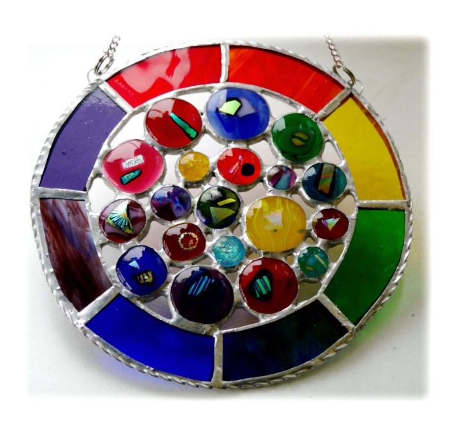 Rainbow Circles 017 #1710 FREE 25.00