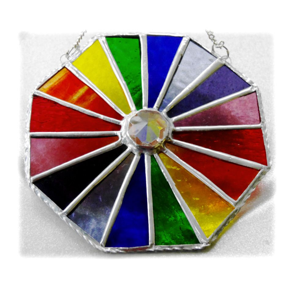 Rainbow Crystal Octagon 001 #1903 FREE 22.50