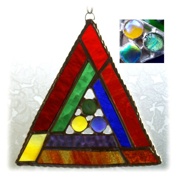 Rainbow Triangles 003 #1407 FREE 14.00
