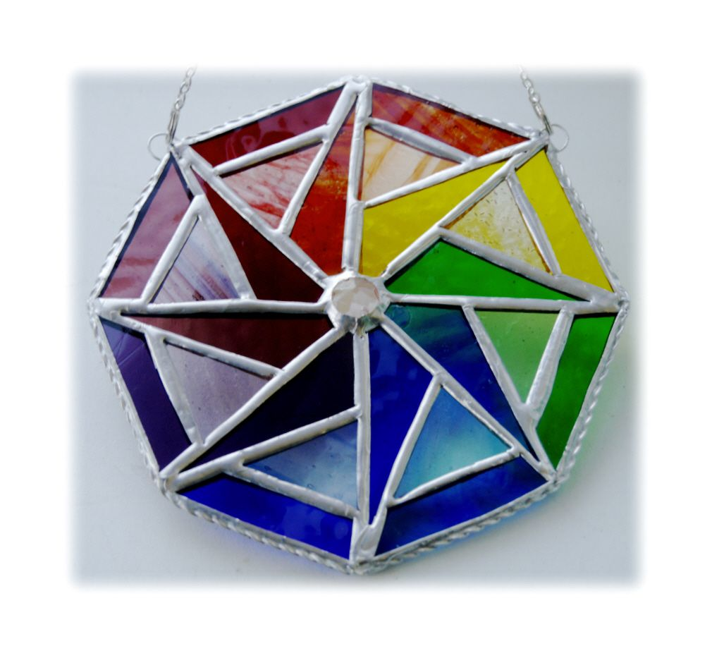 Star Octagon Rainbow  004 #1808 FREE 21.50