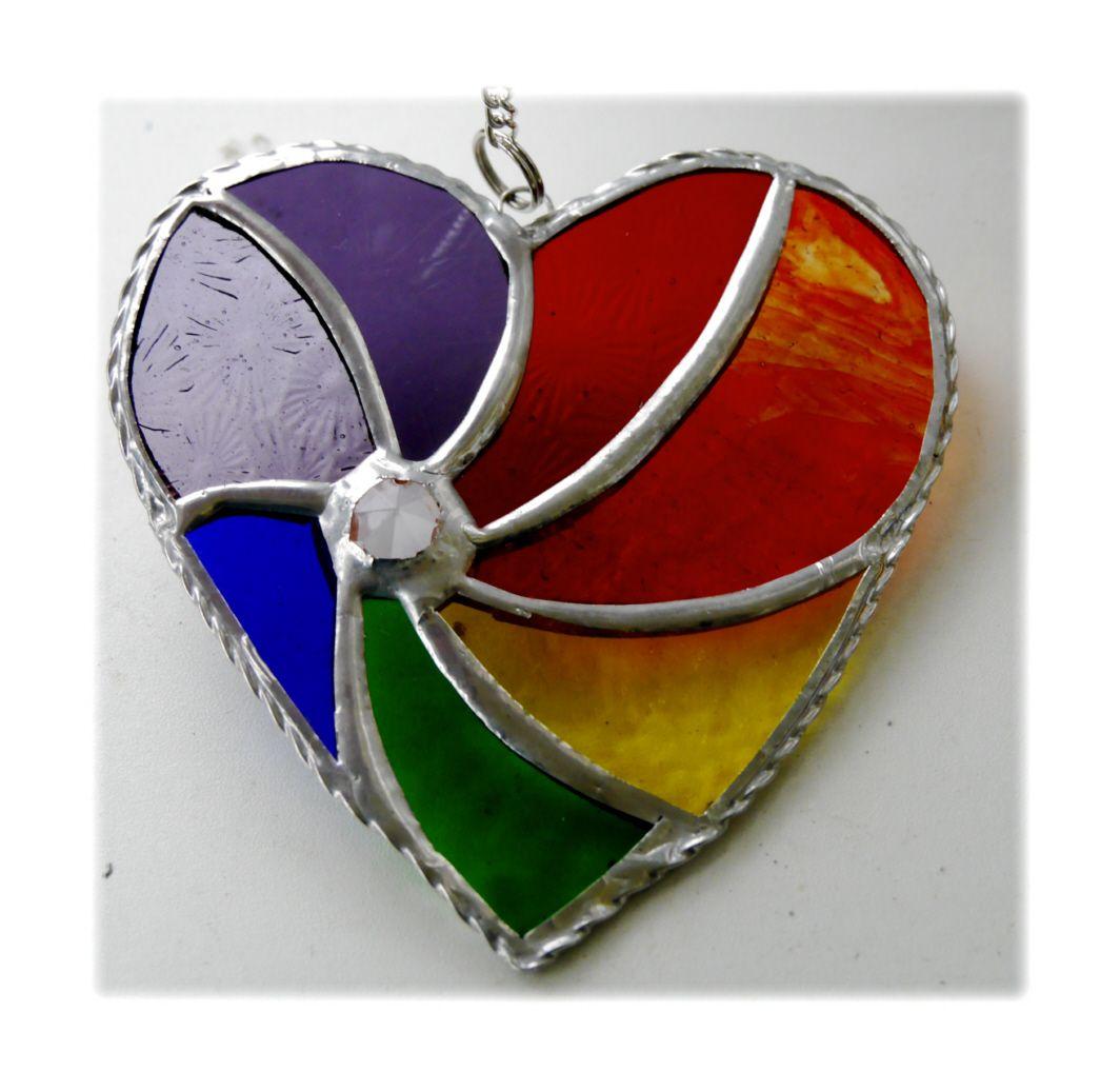 Swirl Heart 028 Rainbow #1811 FREE 14.50