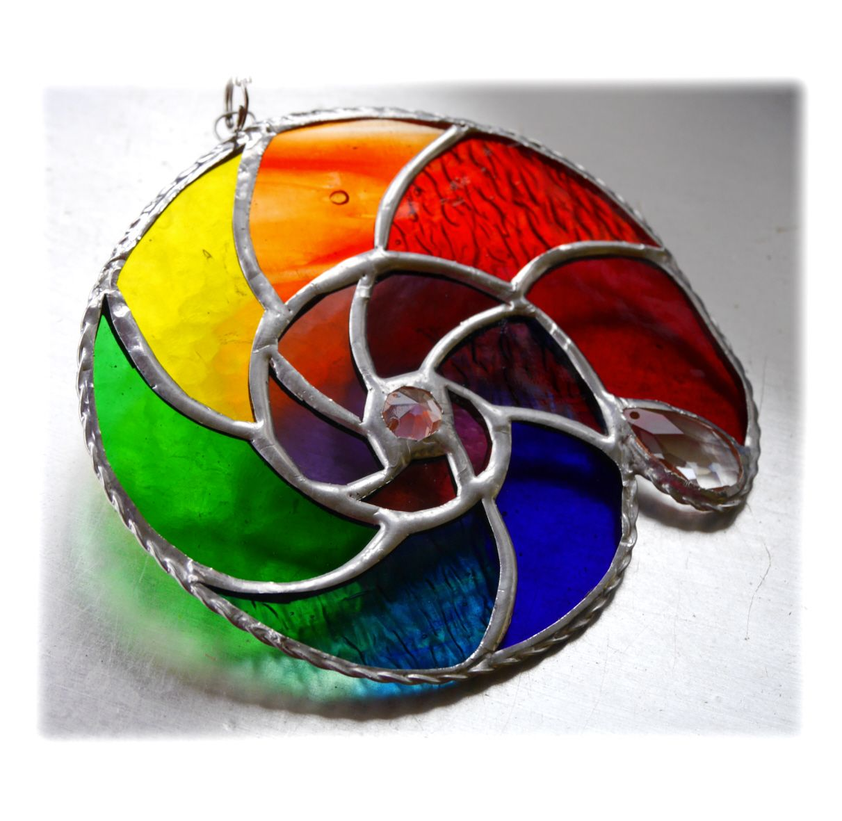 Ammonite 015 Rainbow #1906 FREE 17.50