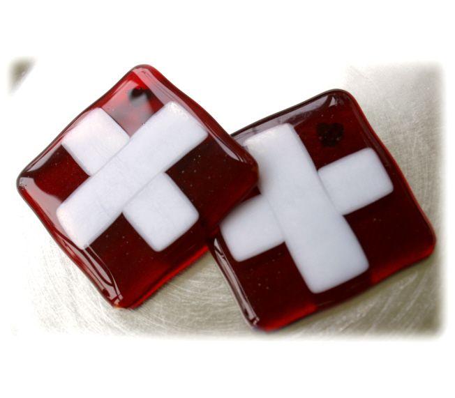 Swiss 8cm Coasters x 2  @Joanne @141225 @20.00