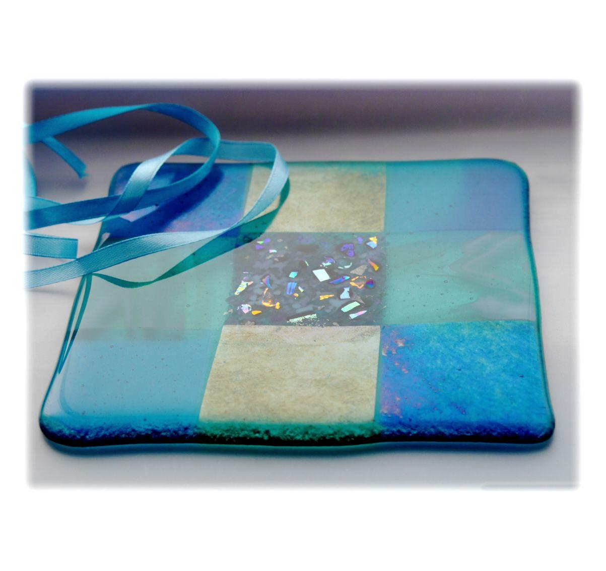 Trivet 16cm 006 turquoise #1708 @PRESENT JENNY @170929 @16.00