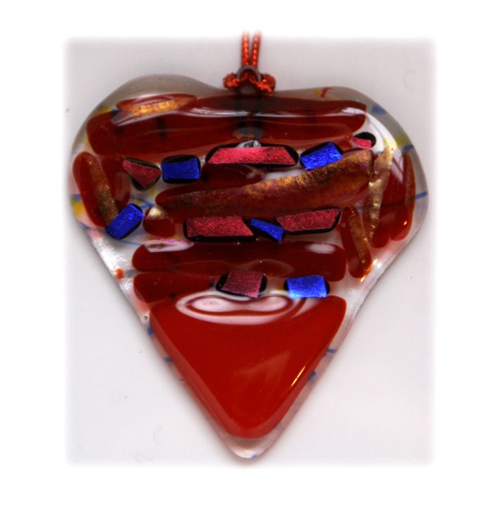 Heart 7cm 002 Red 140112 FUSED 5.50