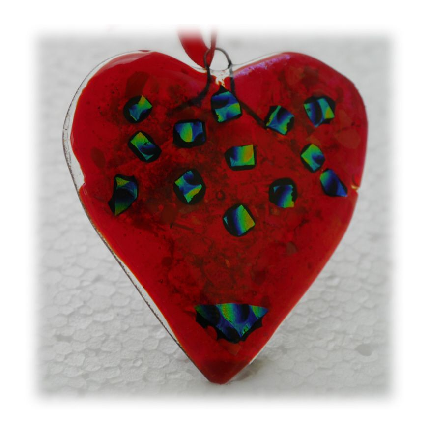 Heart 8.5cm 009 Fused #1707 FREE 7.00