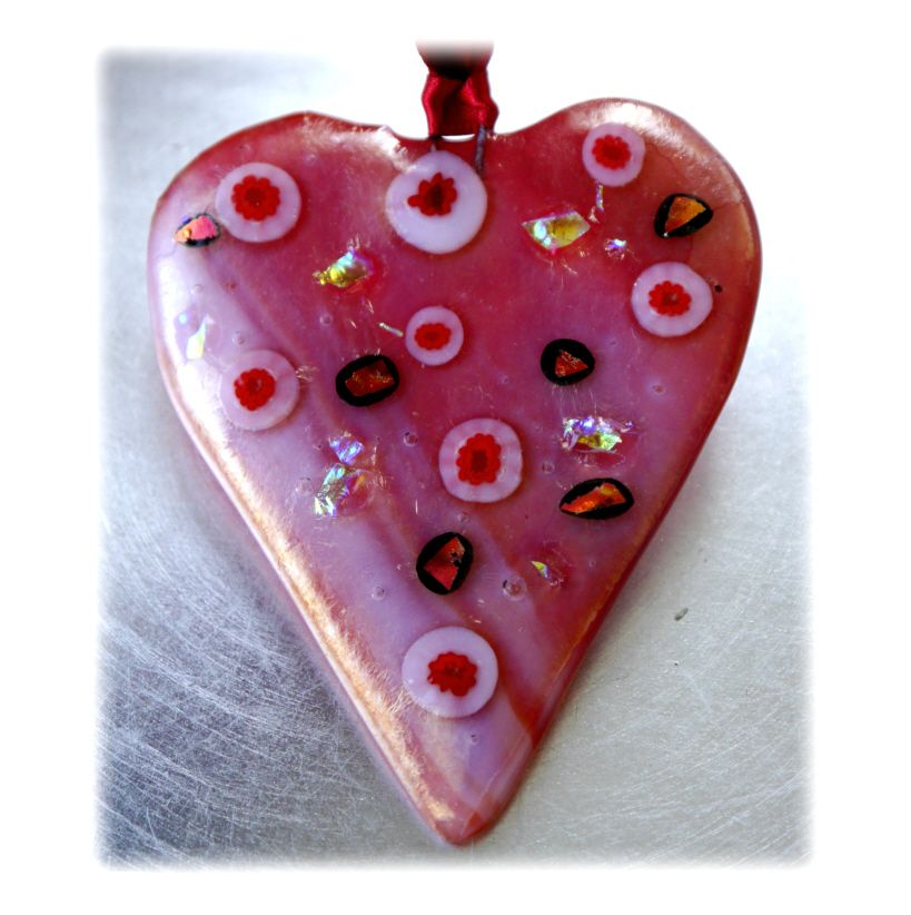 Heart 8.5cm 005 Fused #1512 FREE 7.00