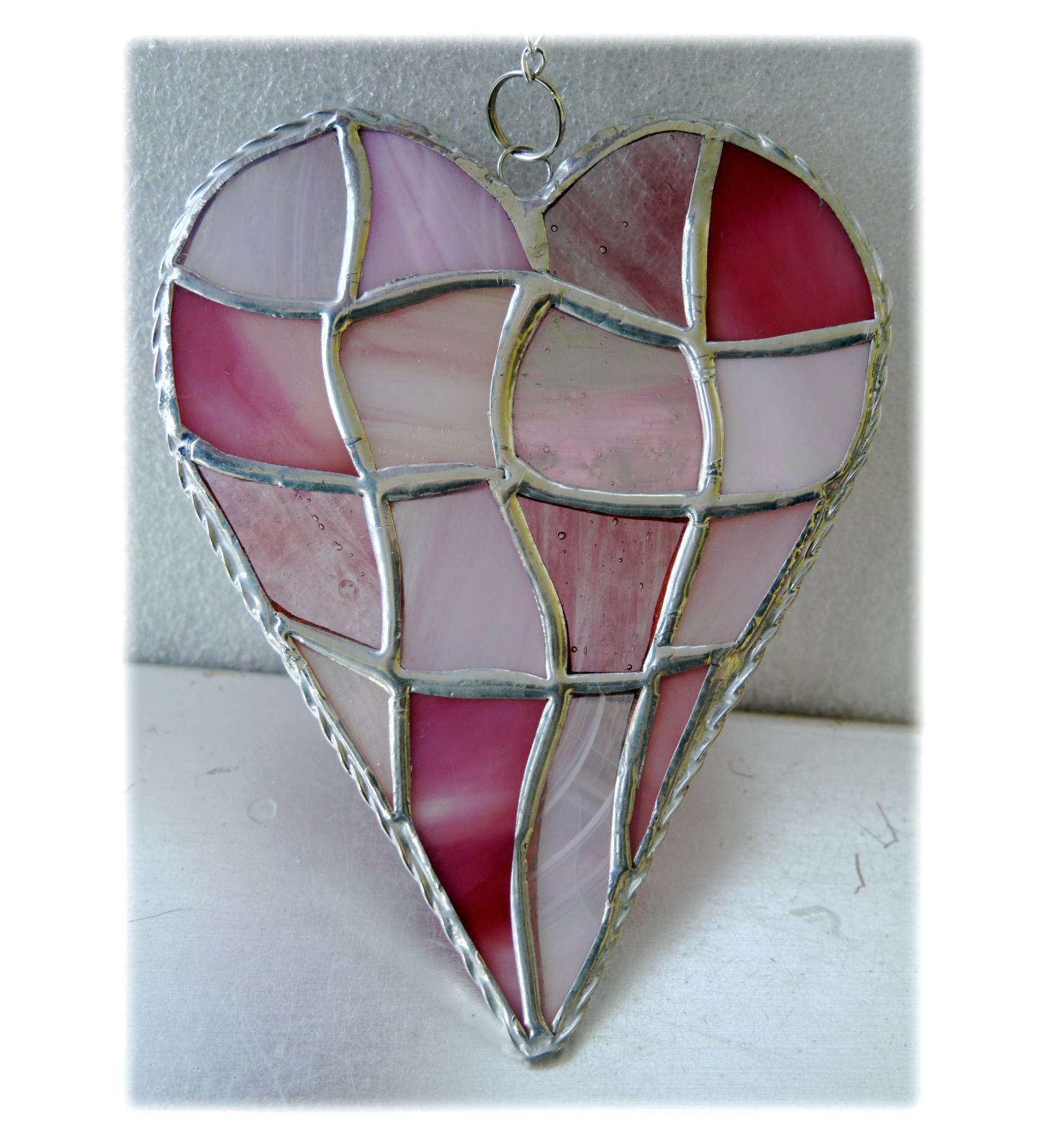 Patchwork Heart 043 Pink #1905 FREE 16.00
