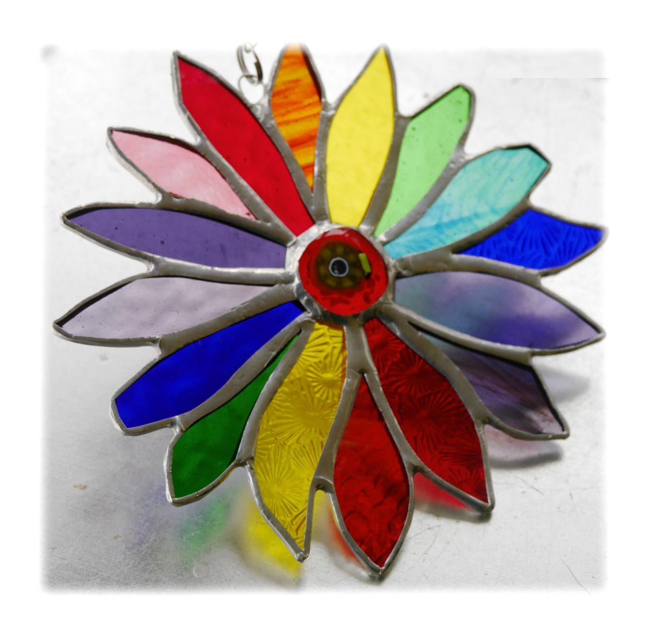Rainbow Flower 057 #1808 FREE 17.50