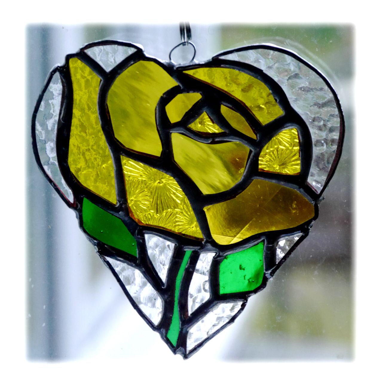 Rose full Heart 018 Yellow #1903 FREE 16.00