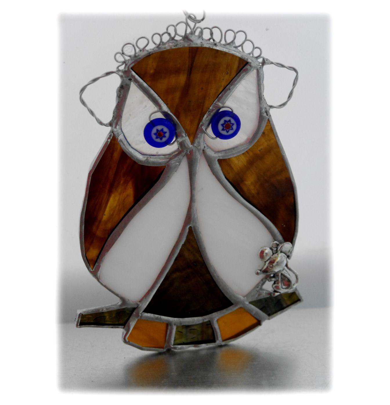 Owl small 029 #1812 FREE 14.50