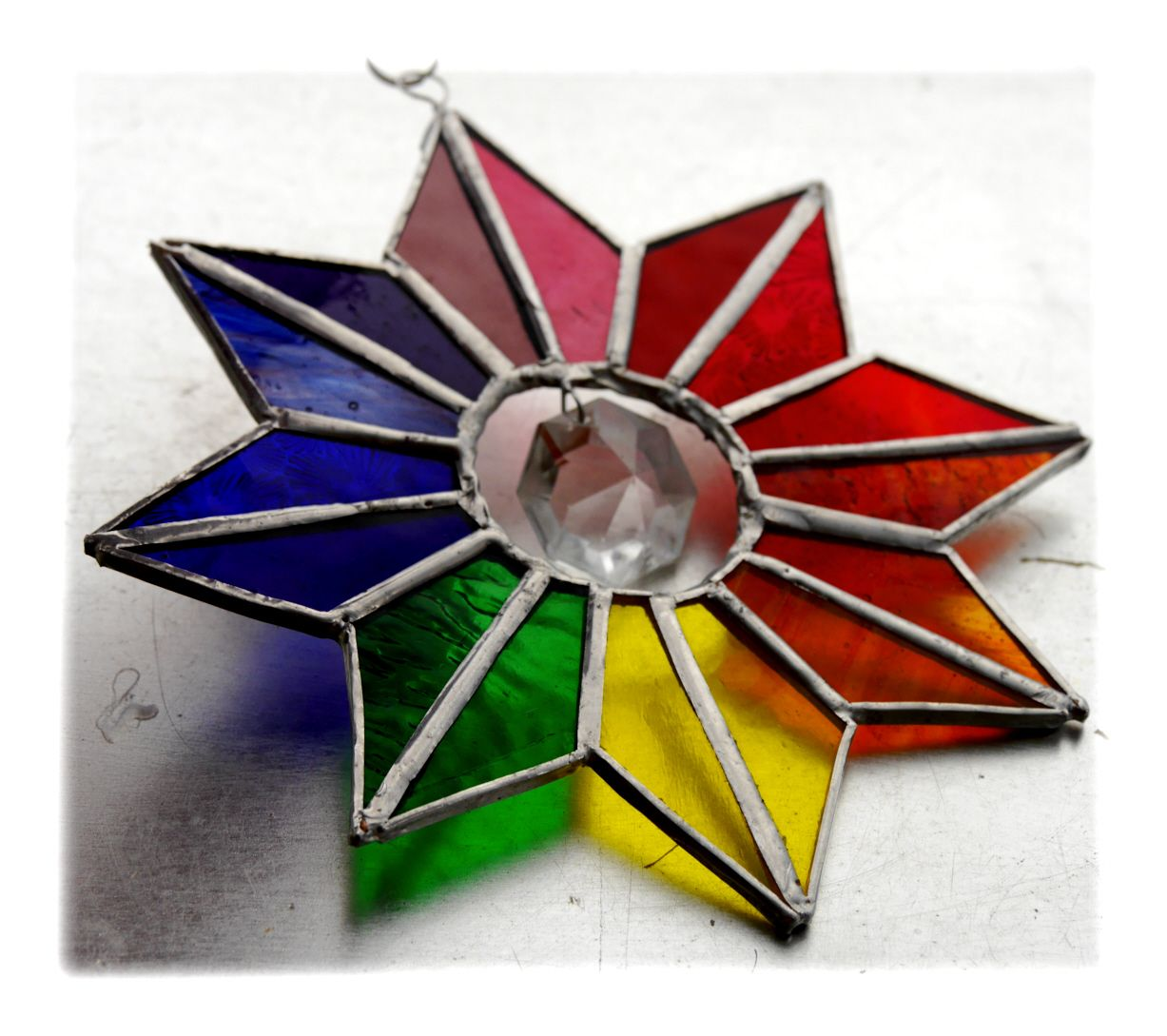 Rainbow Crystal drop star 006 #1808 FREE 17.50