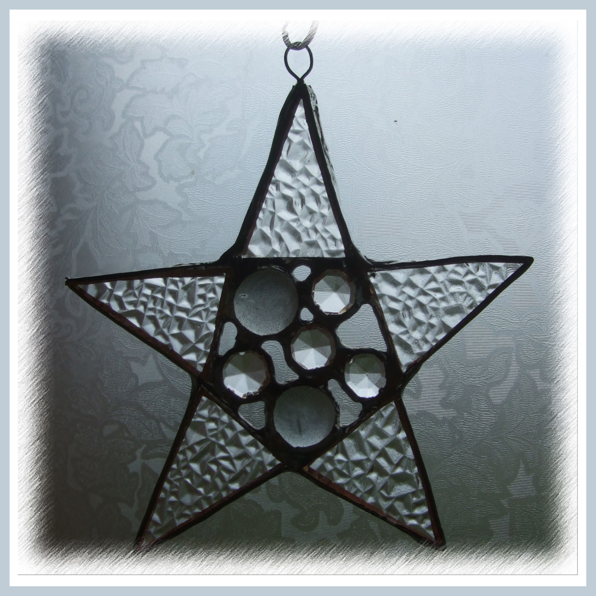 Star Baubles 11cm 001 Silver FREE10.00