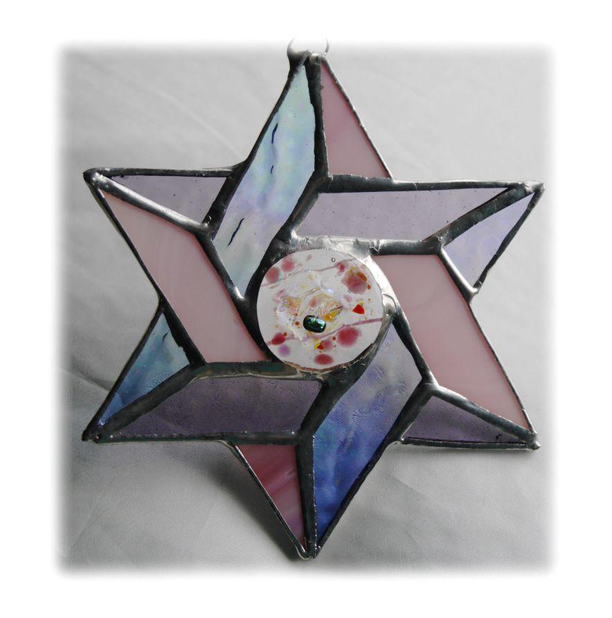 Star of David 018 Pink pastel FREE  15.00