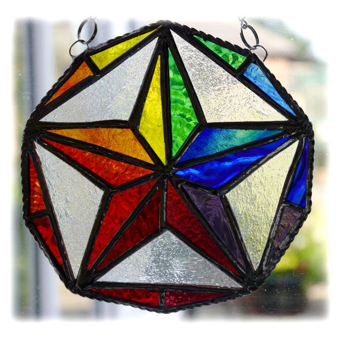 Star Decagon Rainbow 003 #1508 @FOLKSY @180315 @21.50