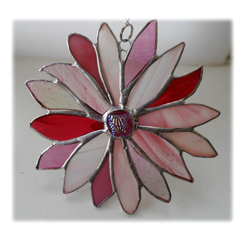 Pink 16 petal Flower 002 #1907 FREE 17.50