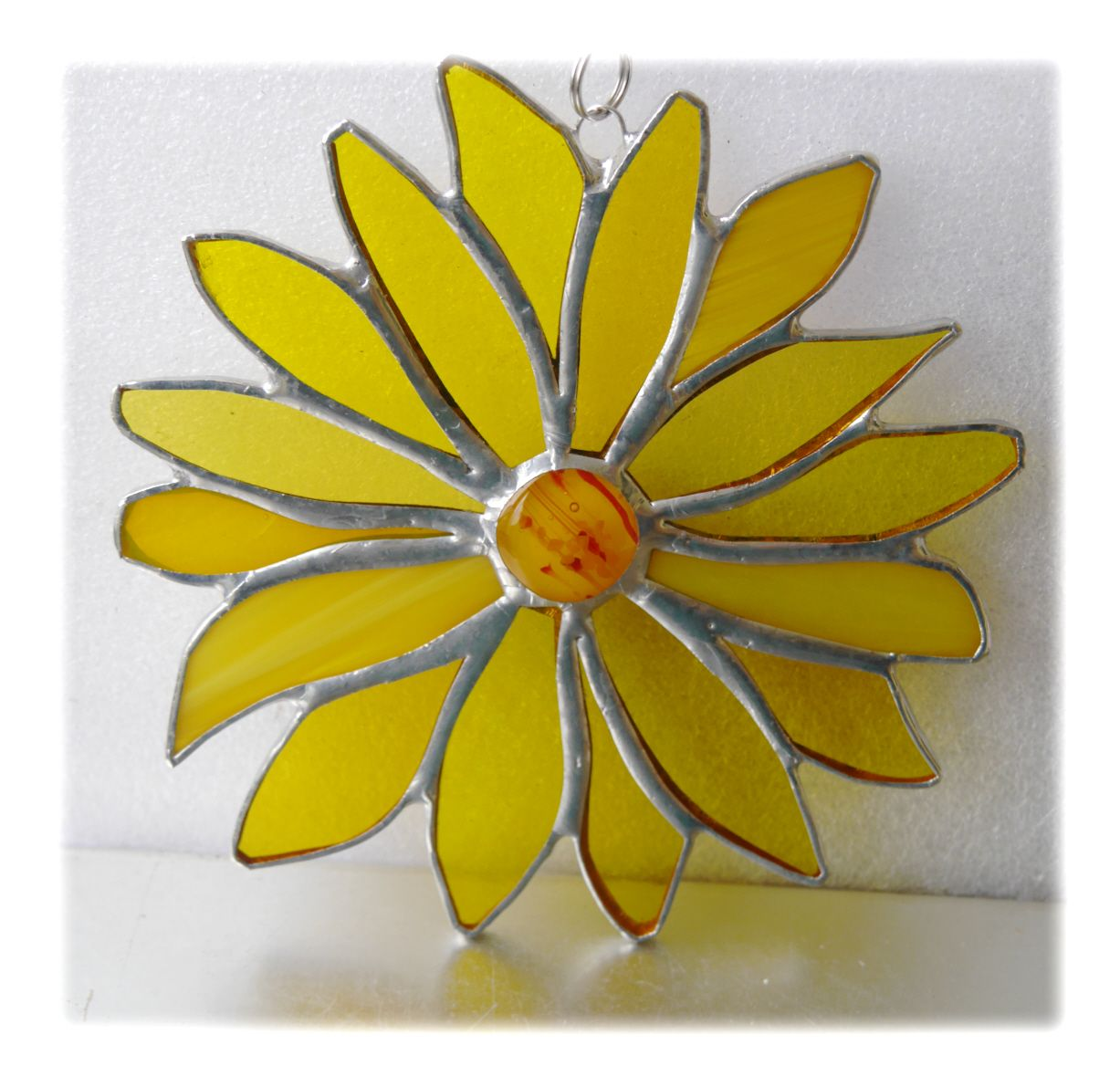 Yellow 16 petal Flower 001 #1905 FREE 17.50