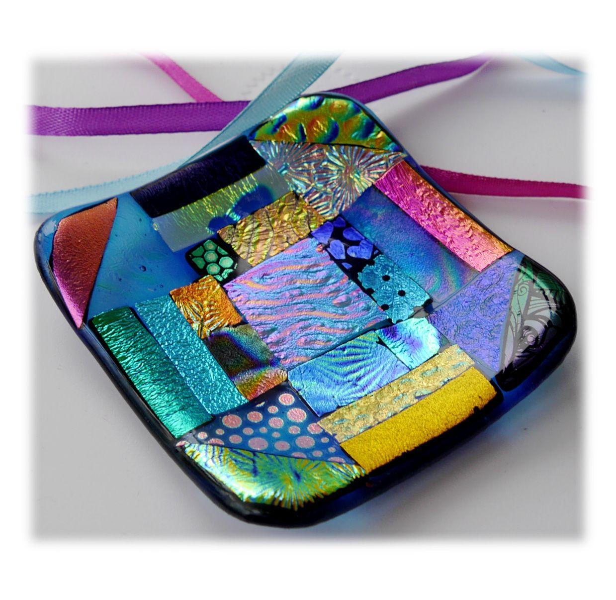 8cm Treasure Dichroic dish 001 #1908 @FOLKSY @190814 @13.75