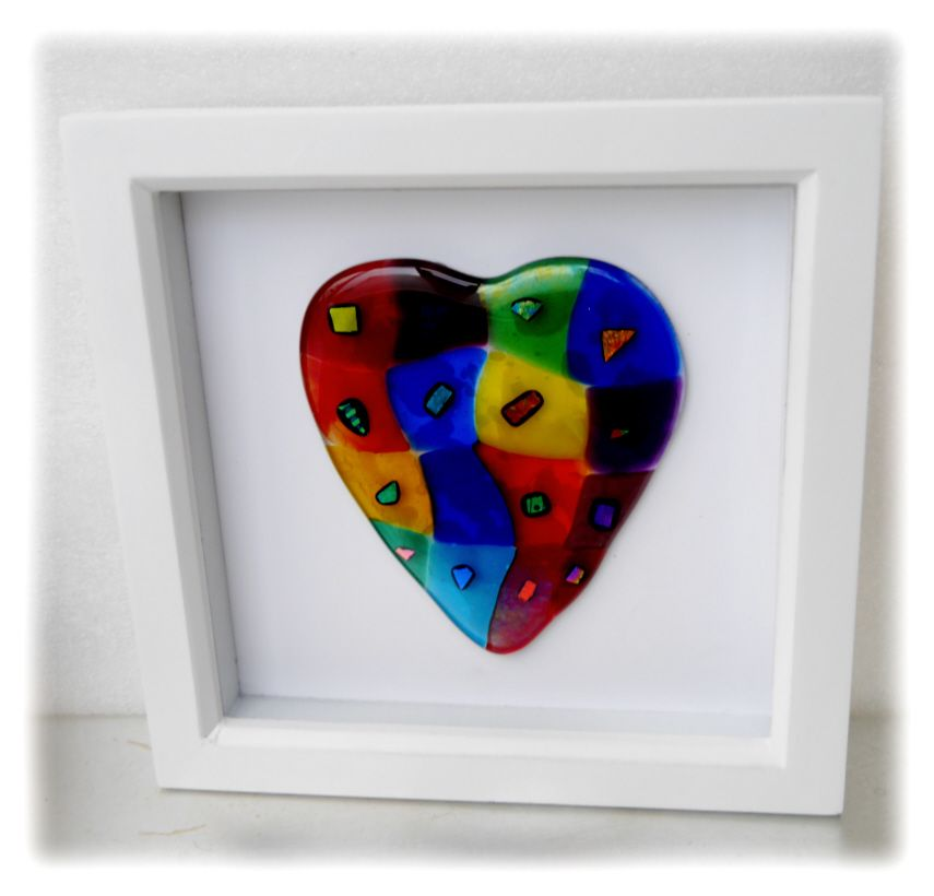 Patchwork Heart boxed 004 #1812  20.00