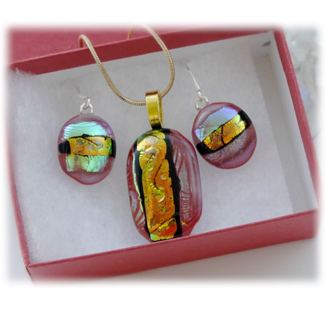 Pendant Earring Set 059 #1804 FREE 10.00