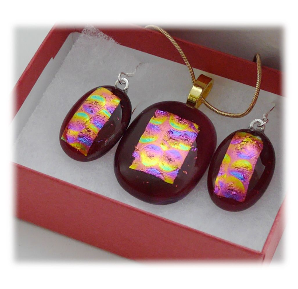 Pendant Earring Set 067 #1805 FREE 10.00