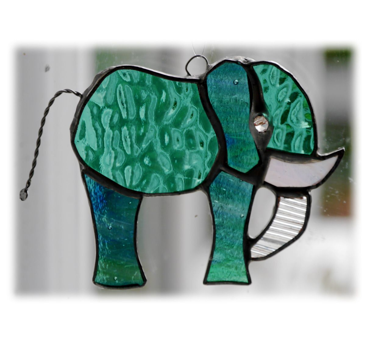 Elephant mini 089 Teal #1907 FREE 9.00